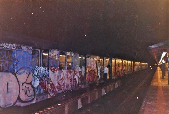 1990s Nyc Graffiti Vintage Everyday