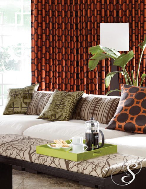 Modern furniture 2014 new modern living room curtain - Living room curtain ideas ...