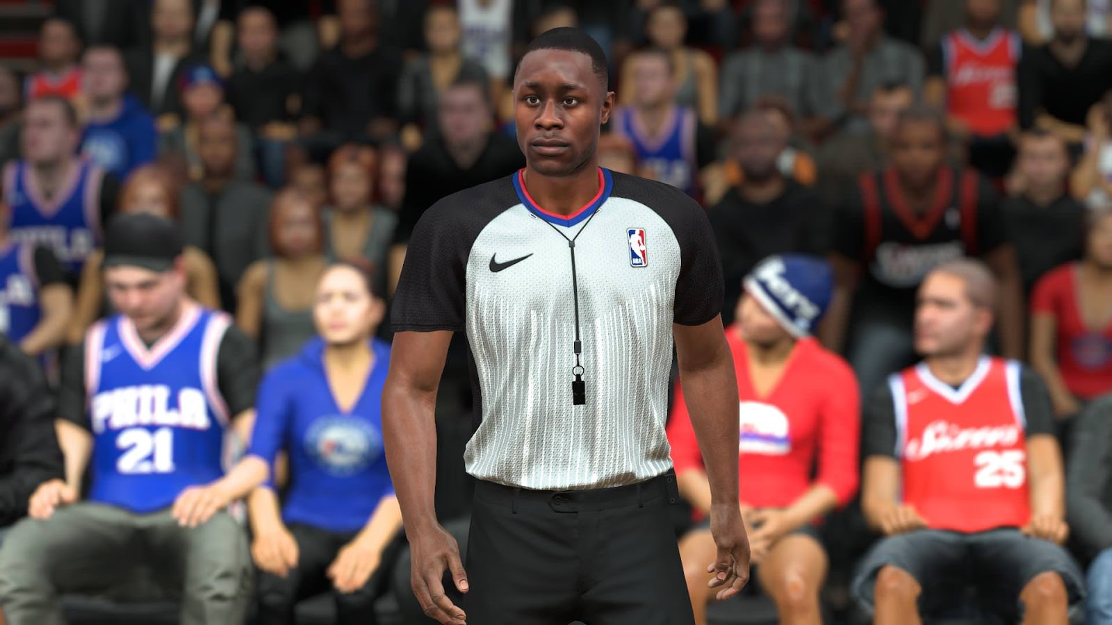 DNA Of Basketball | DNAOBB: NBA 2K18 Nike Logo On Arm Sleeves and Referees Uniforms by YG13 RELEASED