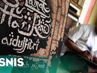 Inspirasi Bisnis Unik : Pembuatan Kaligrafi Limbah Daun Sirsak Bernilai Jutaan Rupiah