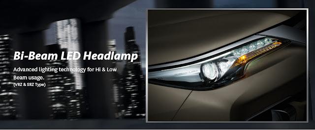 Lampu Bi- Beam Toyota Fortuner Terbaru