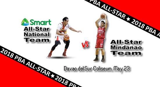 List of All-Star Game: May 23 at Davao del Sur 2018 PBA Commissioner's Cup