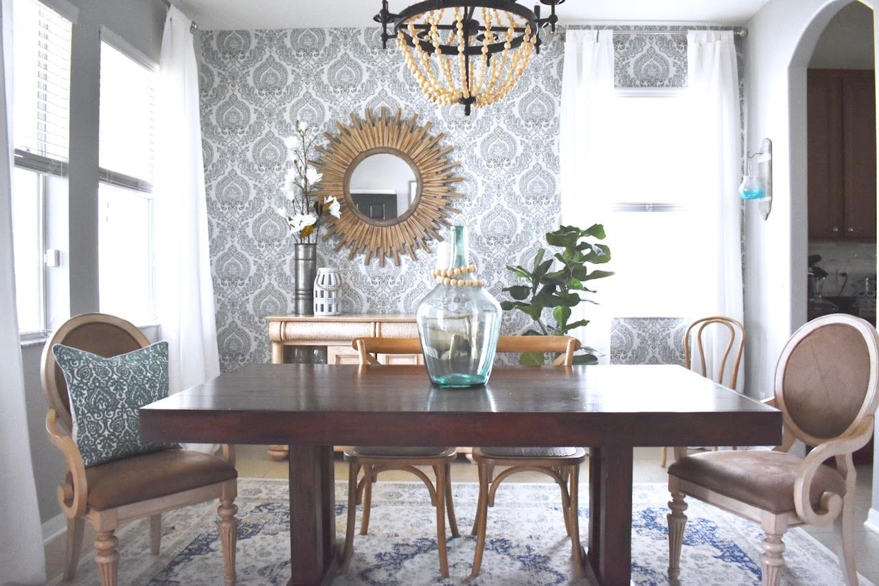 One Room Challenge (Week 6) Dining Room REVEAL