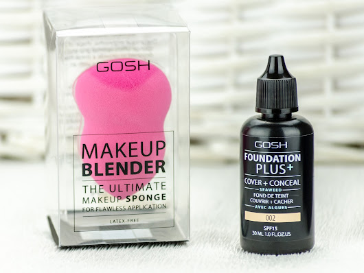 Gosh Foundation plus 2in1 cover+conceal & Makeup Blender