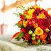 Papel de Parede Flores Buquê de Rosas