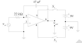 Laporan Praktikum Elektronika Dasar 2 - Rangkaian Integrator