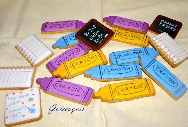 galletas decoradas para profes