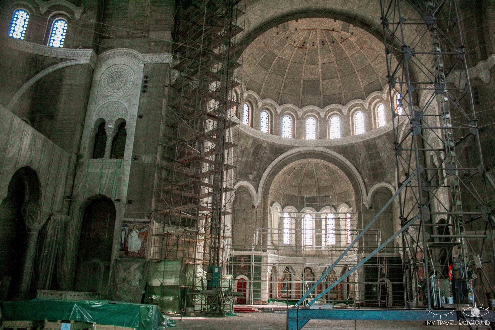 My Travel Background : 1 jour pour visiter Belgrade, la capitale de la Serbie - A l'intérieur de la Cathédrale Saint-Sava