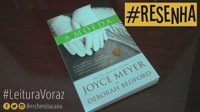 """Capa do livro """"A Moeda"""", Joyce Meyer e Deborah Bedford"""