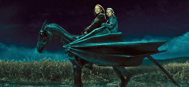 Бил и Фльор на тестрол - Хари Потър и даровете на смъртта