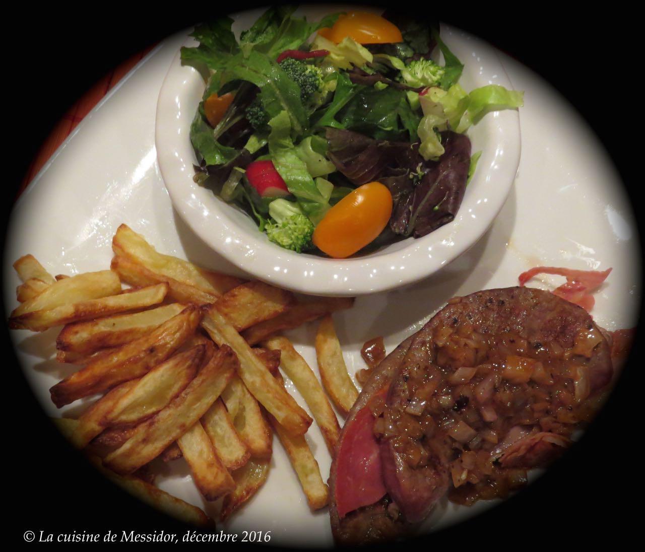 la cuisine de messidor foie de veau bordelais et frites parfaites no 3. Black Bedroom Furniture Sets. Home Design Ideas