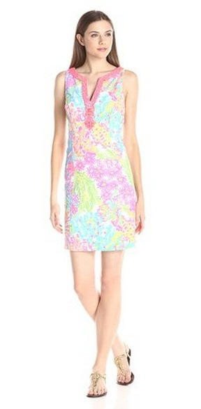 lilly pulitzer ryder shift dress lovers coral summer 2016 preorder