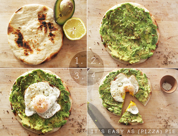 New column: MANGIONA with Caitlin Levin #1 Avo and Eggs Breakfast Pizza
