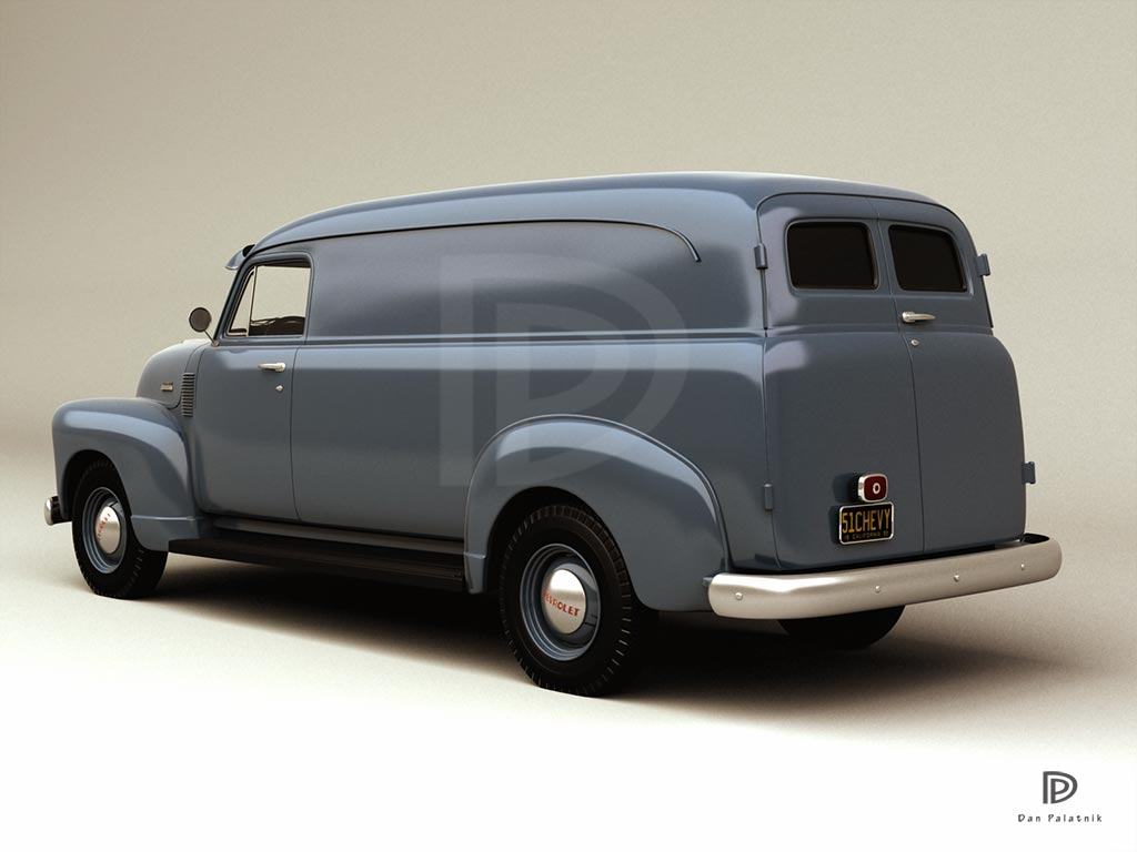 a garagem digital de dan palatnik the digital garage project 1951 chevrolet model 3800 1 ton. Black Bedroom Furniture Sets. Home Design Ideas