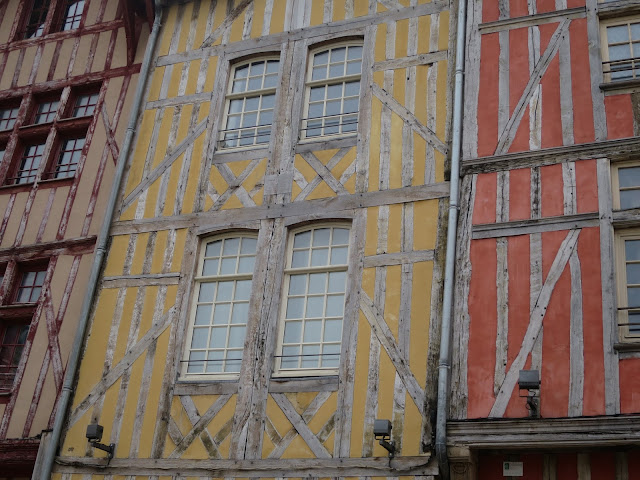 maisons à pans de bois - Troyes
