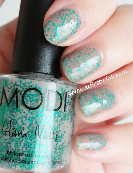 Modi Glam Nails nail polish 79 - Bustier review