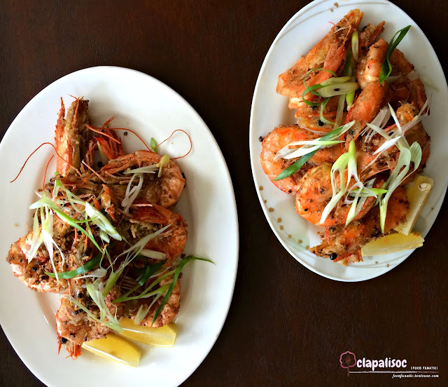 Vietnamese Salt & Pepper Prawns from Tra Vinh