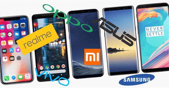 Merk HP Smartphone Dengan Kualitas Terbaik Yang Paling Terkenal