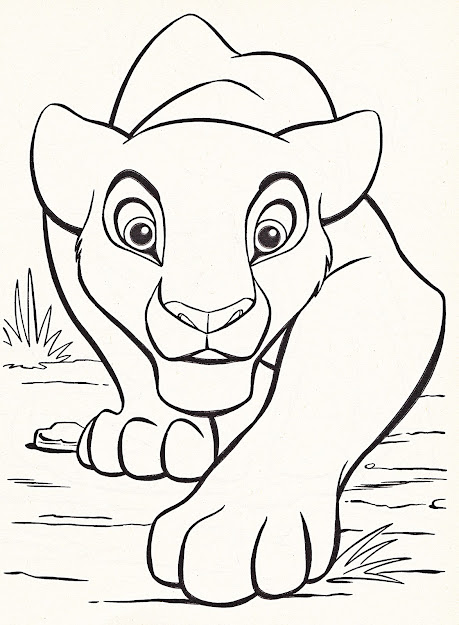Disney Animal Coloring Pages Free Template