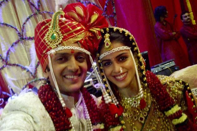 Genelia Marriage Reception Photos Genelia D'S...
