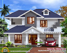 Kerala Style Villa Exterior - Home Design And Floor