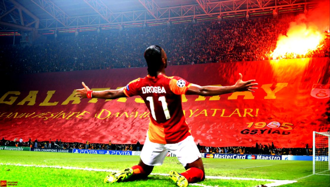 Drogba Galatasaray Hd Wallpaper Nice Wallpapers