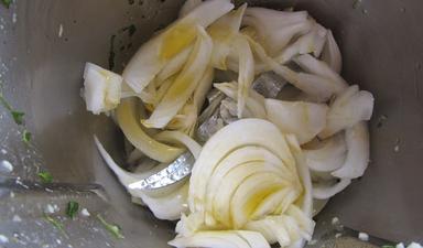 Pechugas en salsa de cebolla Thermomix