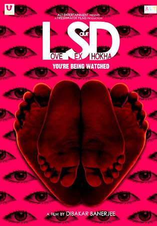 Poster Of Hindi Movie LSD: Love, Sex Aur Dhokha 2010 Full HD Movie Free Download 720P Watch Online