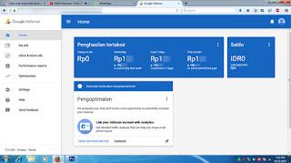 cara upgrade google adsense hosted ke non hosted