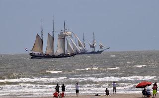 ships under sail