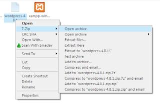 Cara Memasang Wordpress Di XAMPP 14