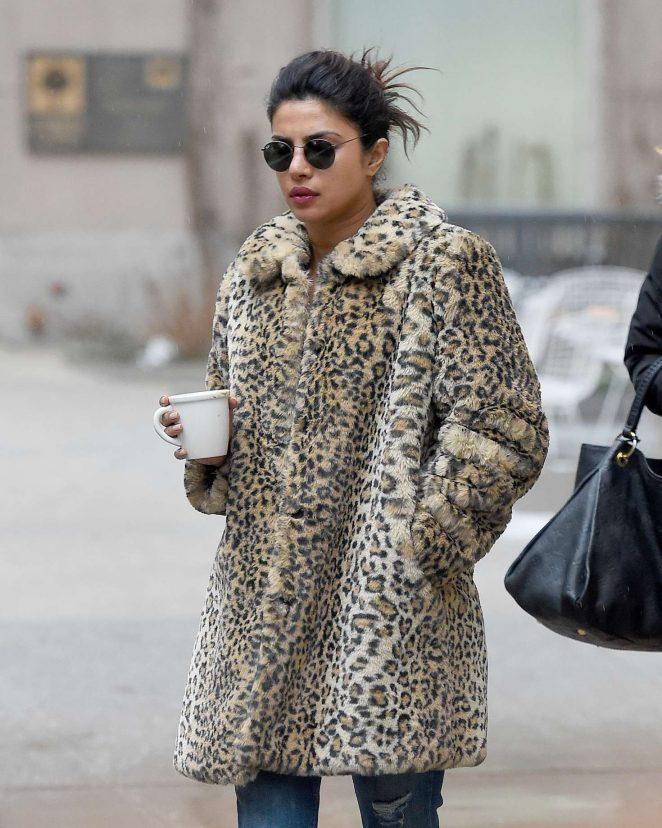 Priyanka Chopra - in New York City