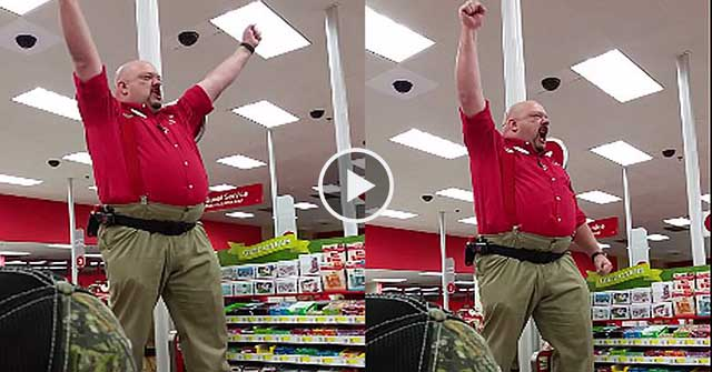 Target Manager Gives Black Friday Pep Talk.