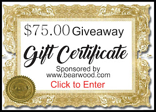https://gleam.io/y9AJZ/bear-woods-sponsored-75-gift-certificate-giveaway-wwwbearwoodcom