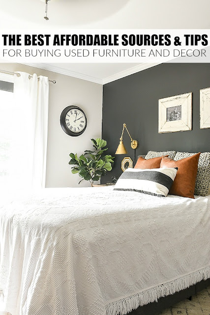 The best affordable sources & tips for buying used furniture and decor