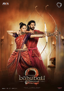 Upcoming Movie baahubali2 Poster