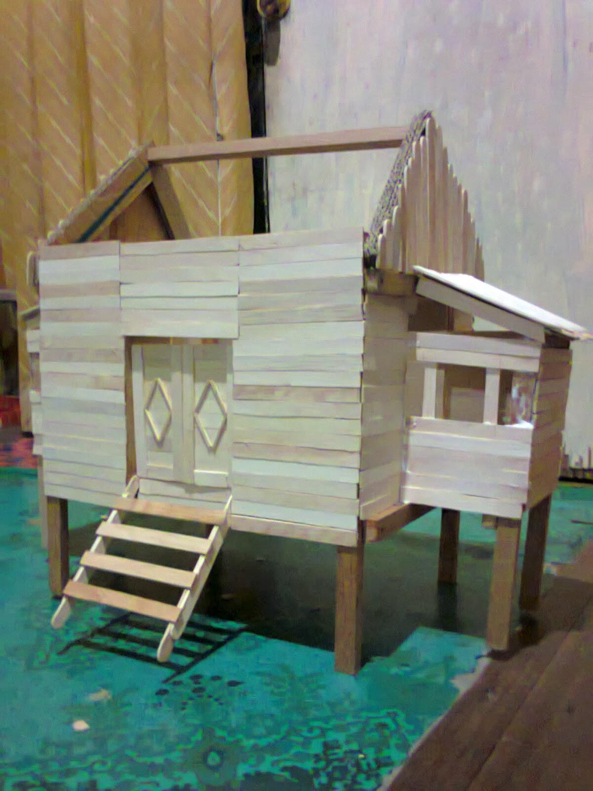 Contoh Rumah Minimalis Dari Stik Interior Rumah