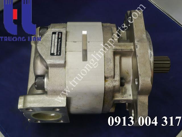 Bơm thủy lực bánh răng 705-12-38011 máy xúc lật Komatsu WA500-3