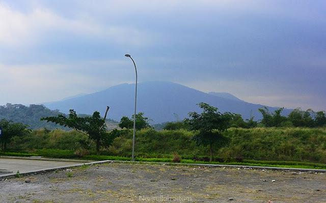 Pemandangan dari rest area Bawen