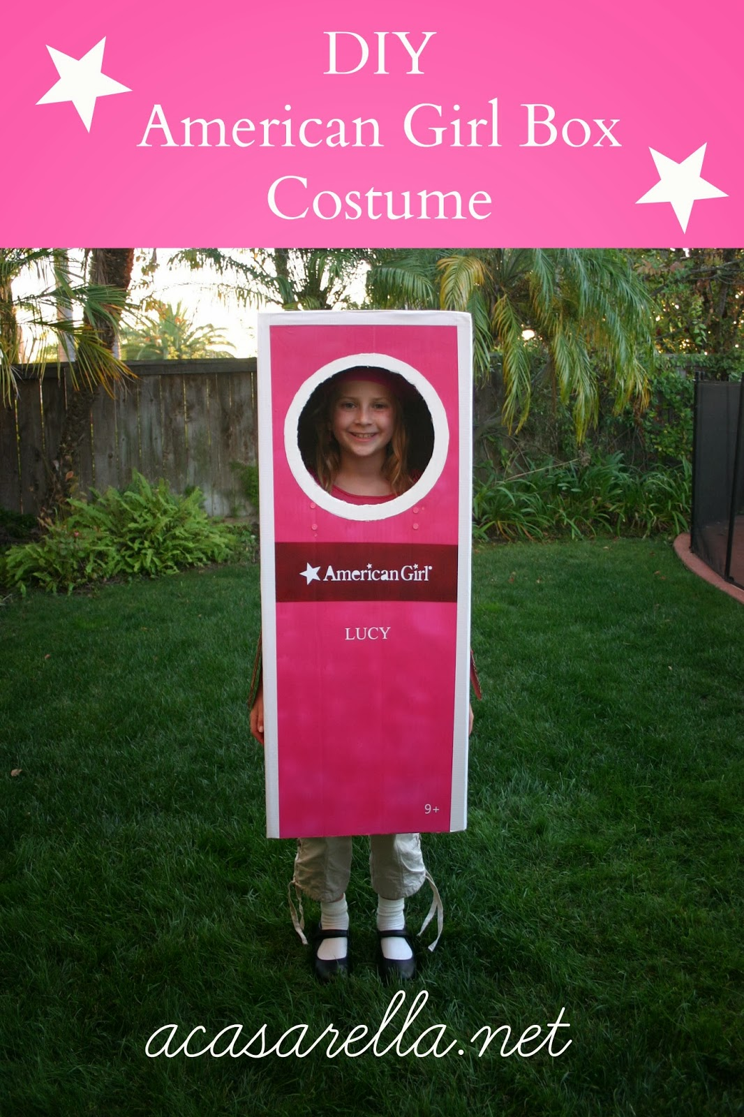 DIY American Girl Box Halloween Costume  sc 1 st  A Casarella & DIY American Girl Box Halloween Costume | u0027A Casarella