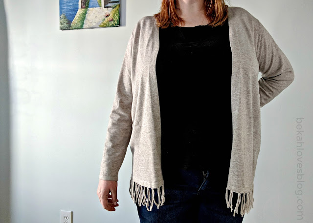 Kenslee Fringe Open Cardigan Stitch Fix