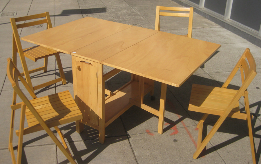 Uhuru Furniture Amp Collectibles Sold Gate Leg Table And