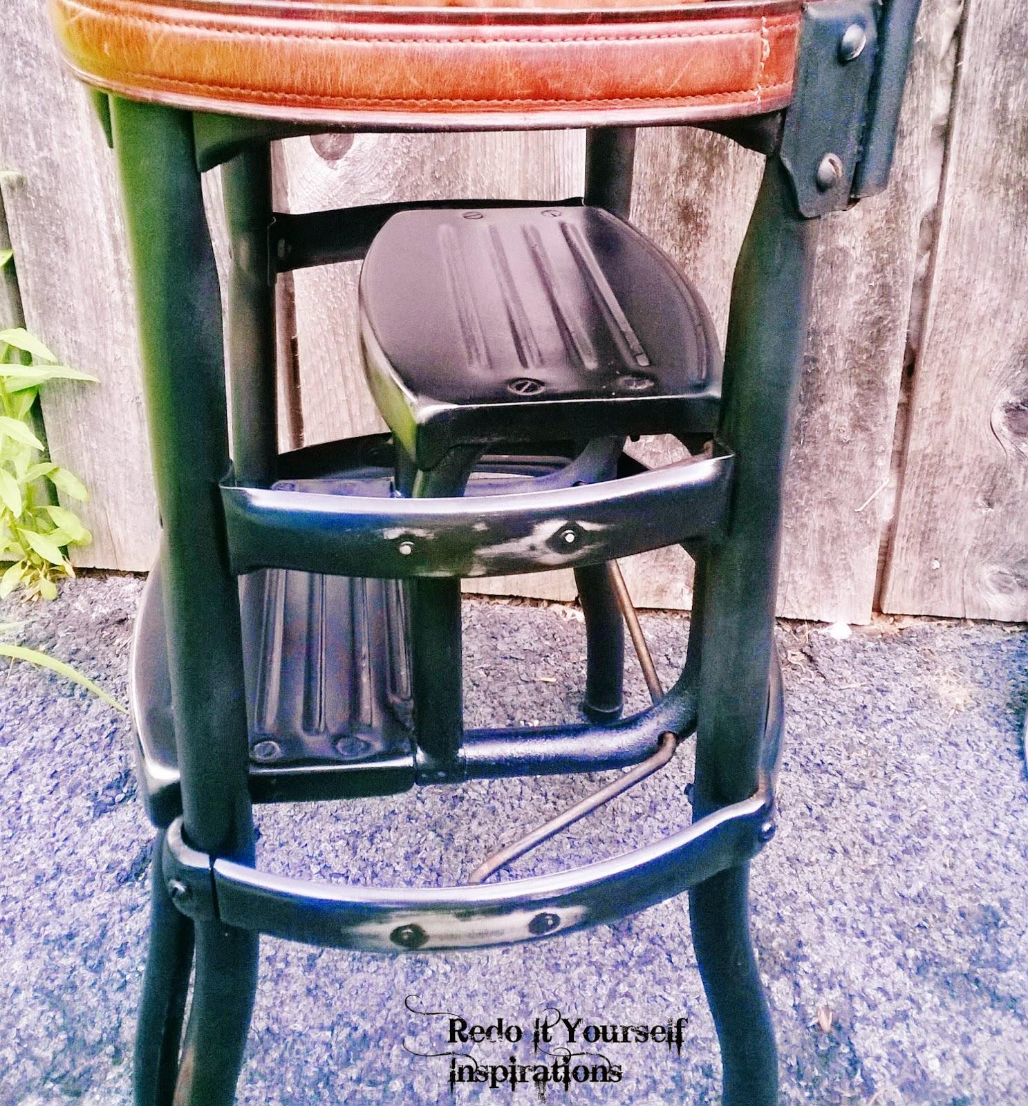 Pleasant Junk Yard Step Chair Redo 11 Knockoff Redo It Yourself Dailytribune Chair Design For Home Dailytribuneorg