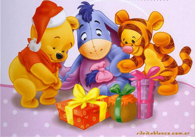 Baúl De Navidad Winnie The Pooh Y Sus Amigos Preparan La Navidad