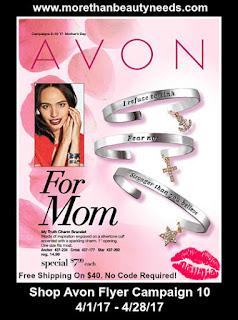 Shop Avon Flyer Campaign 10 4/1/17 - 4/28/17