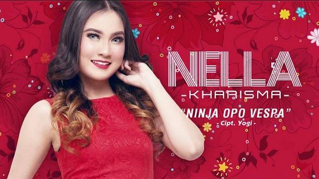 Lirik Lagu Ninja Opo Vespa Nella Kharisma Asli dan Lengkap Free Lyrics Song