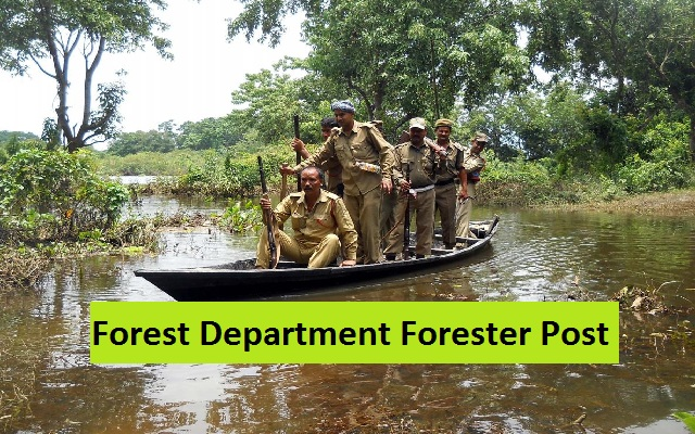 Forest Department Career 2018 Forester Posts