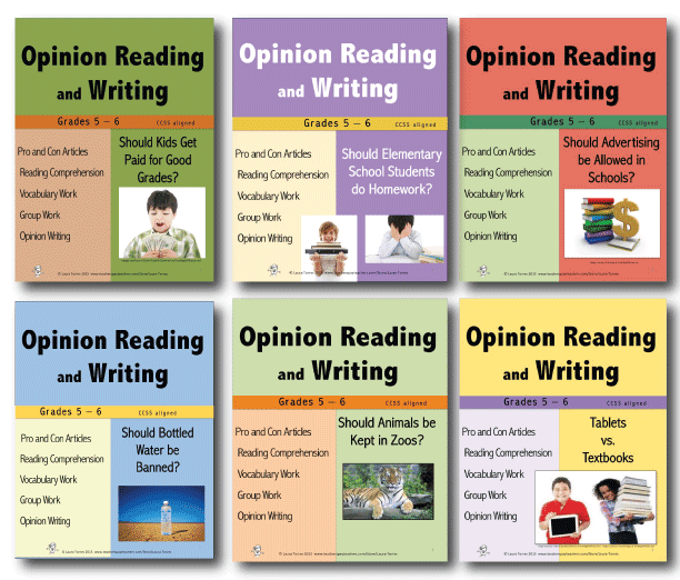 https://www.teacherspayteachers.com/Product/Opinion-Reading-and-Writing-Bundle-2-1909076