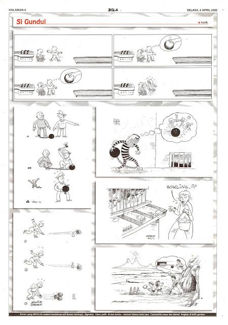 Si Gundul EDISI SELASA, 2 APRIL 2002