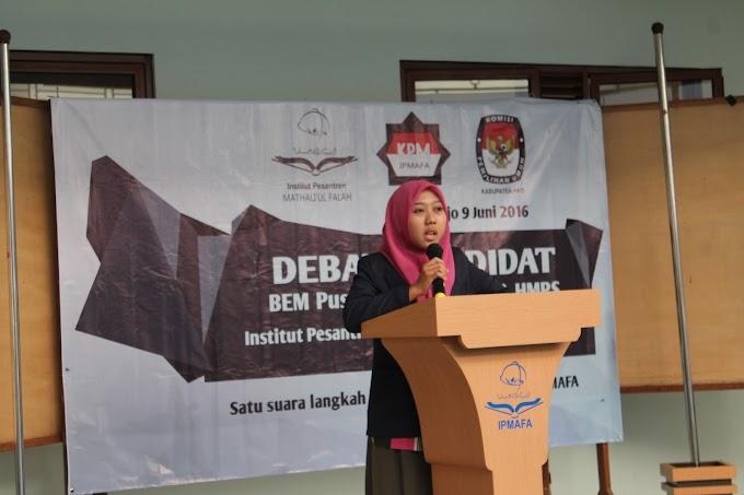 Debat Kandidat Calon Ketua Mahasiswa IPMAFA